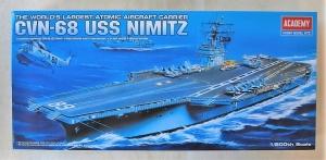 ACADEMY 1/800 14213 CVN-68 USS NIMITZ