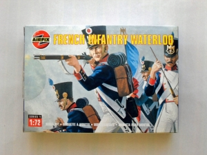 AIRFIX 1/72 01744 FRENCH INFANTRY WATERLOO