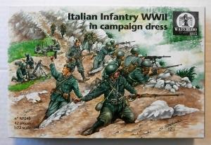 WATERLOO 1/72 AP040 ITALIAN INFANTRY WWII IN CAMPAIGN DRESS