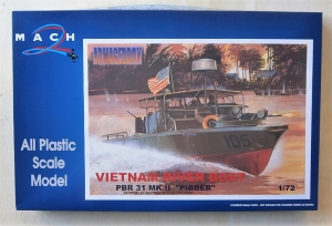 MACH 1/72 07 VIETNAM RIVER BOAT PBR 31 Mk.II PIBBER