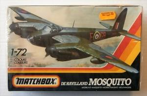 MATCHBOX 1/72 PK-116 DE HAVILLAND MOSQUITO NF.30/ Mk.IX