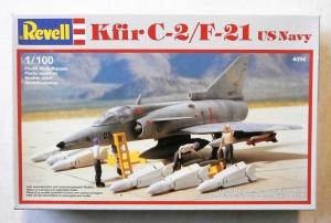 REVELL 1/100 4056 KFIR C-2/F-21 US NAVY