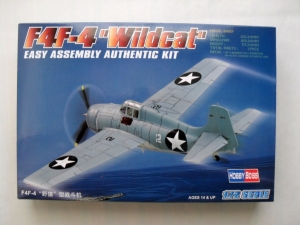 HOBBYBOSS 1/72 80220 F4F-4 WILDCAT EASY ASSEMBLY