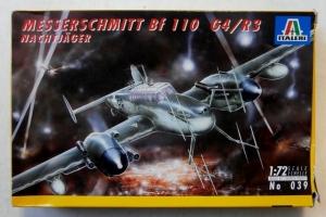 ITALERI 1/72 039 MESSERSCHMITT Bf 110 G4/R3 NACHTJAGER