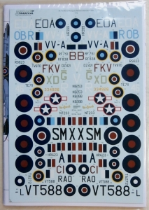 XTRADECAL 1/72 72232 de HAVILLAND MOSQUITO FB.Mk.VI/B.VI/B.XX/T.III