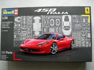 REVELL 1/24 07141 FERRARI 458 ITALIA