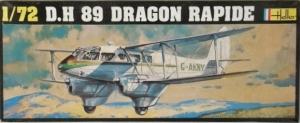 HELLER 1/72 345 D.H 89 DRAGON RAPIDE