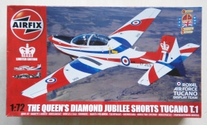 AIRFIX 1/72 73005 THE QUEENS FLIGHT DIAMOND JUBILEE SHORTS TUCANO T.1