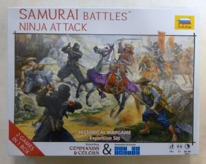 ZVEZDA 1/72 6420 SAMURAI BATTLES NINJA ATTACK