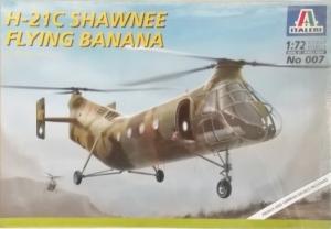 ITALERI 1/72 007 H-21C SHAWNEE FLYING BANANA