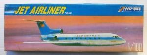 NU BEE 1/100 YAK-40 JET AIRLINER AEROFLOT