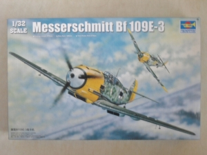 TRUMPETER 1/32 02288 MESSERSCHMITT Bf 109E-3