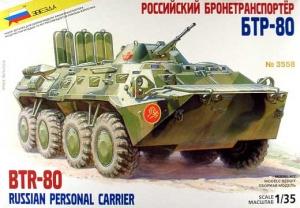 ZVEZDA 1/35 3558 BTR-80A