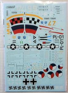 XTRADECAL 1/48 48179 MESSERSCHMITT Me 262 A1a/U3/A2a   S-92
