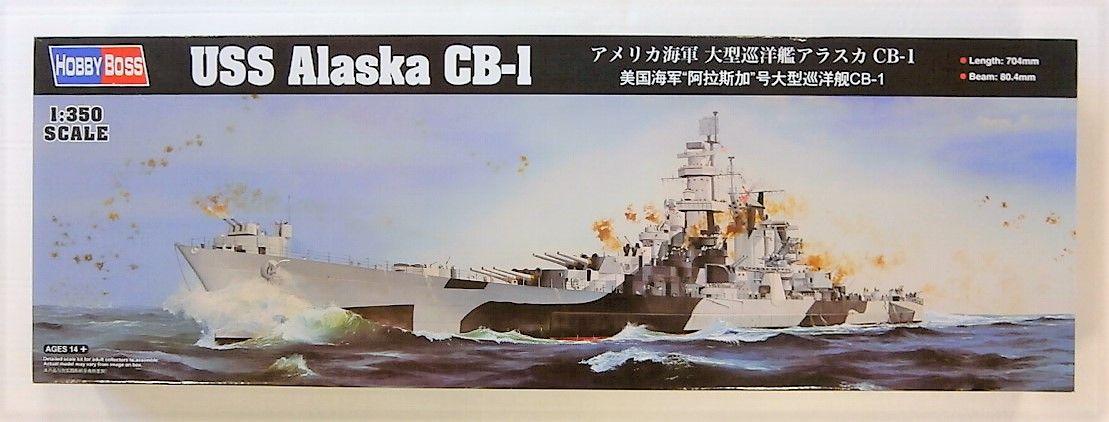 HOBBYBOSS 1/350 86513 USS ALASKA CB-1