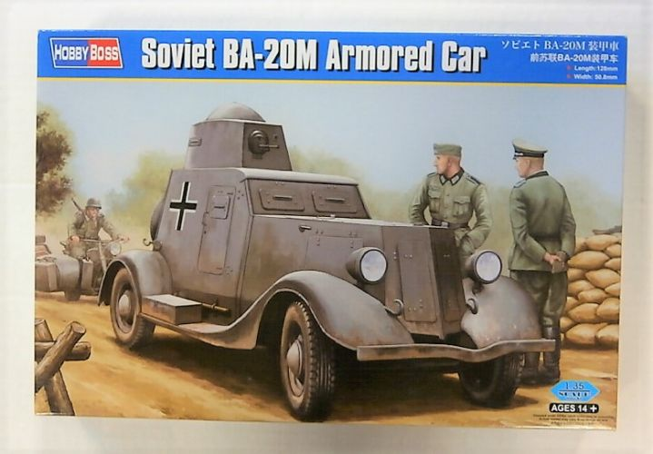 HOBBYBOSS 1/35 83884 SOVIET BA-20M ARMOURED CAR
