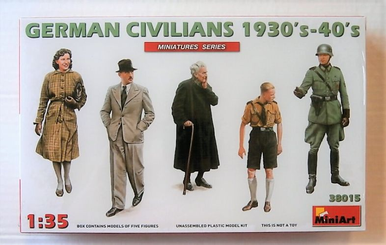 MINIART 1/35 38015 GERMAN CIVILLIANS 1930S-1940S