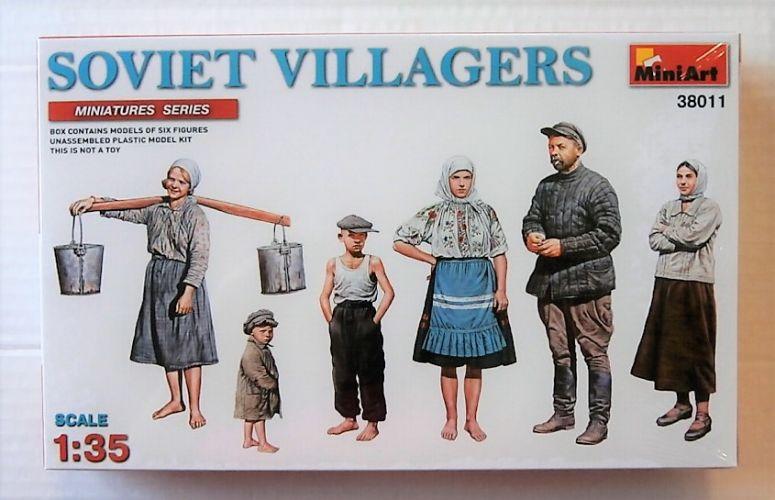 MINIART 1/35 38011 SOVIET VILLAGERS