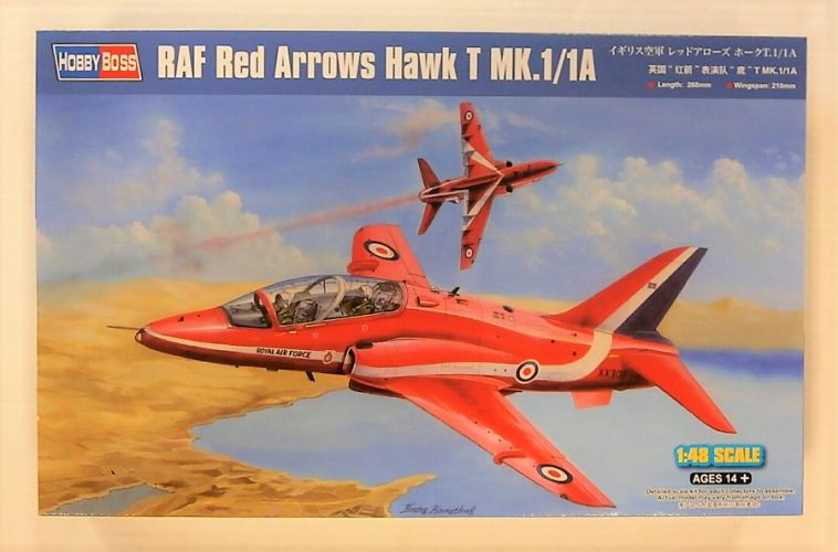HOBBYBOSS 1/48 81738 RAF RED ARROWS HAWK T MK.1/1A