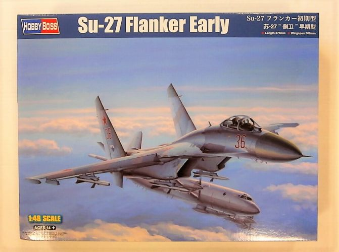 HOBBYBOSS 1/48 81712 SU-27 FLANKER EARLY