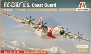 ITALERI 1/72 1348 HC-130J US COAST GUARD