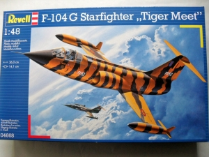 REVELL 1/48 04668 F-104G STARFIGHTER TIGER MEET
