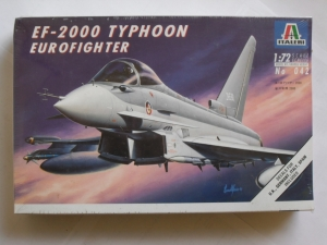 ITALERI 1/72 042 EF-2000 TYPHOON EUROFIGHTER