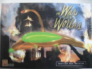 PEGASUS HOBBIES 1/48 9001 WAR OF THE WORLDS MARTIAN WAR MACHINE