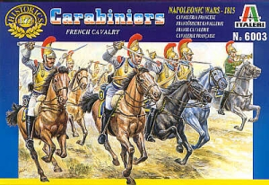 ITALERI 1/72 6003 NAPOLEONIC FRENCH HEAVY CAVALRY