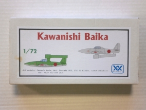 A   V MODELS 1/72 123 KAWANISHI BAIKA