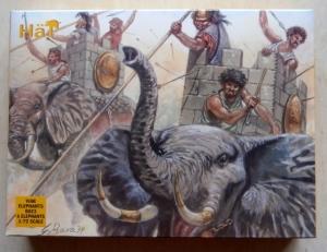 HAT INDUSTRIES 1/72 8023 WAR ELEPHANTS