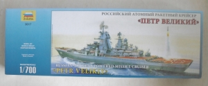ZVEZDA 1/700 9017 PETR VELIKIY RUSSIAN NUCLEAR POWERED MISSILE CRUISER