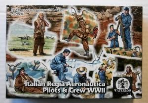 WATERLOO 1/72 AP055 ITALIAN REGIA AERONAUTICA PILOTS   CREW WWII