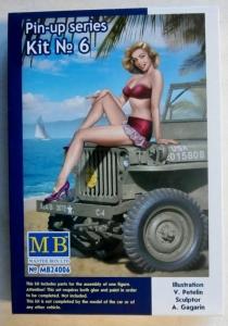 MASTERBOX 1/24 24006 PIN-UP SERIES KIT No 6 SAMANTHA
