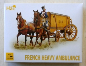 HAT INDUSTRIES 1/72 8104 FRENCH HEAVY AMBULANCE