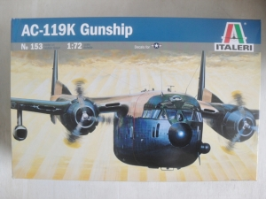 ITALERI 1/72 153 AC-119K GUNSHIP STINGER SHADOW