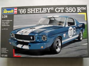REVELL 1/24 07193 66 SHELBY GT 350 R