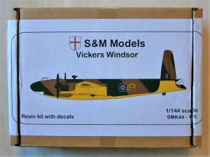S M MODELS 1/144 SMK44-15 VICKERS WINDSOR