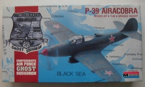 MONOGRAM 1/48 5213 P-39 AIRACOBRA CONFEDERATE AIRFORCE GHOST SQUADRON