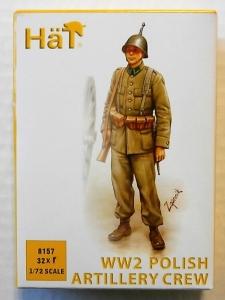 HAT INDUSTRIES 1/72 8157 WWII POLISH ARTILLERY CREW