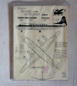 WELSH MODELS 1/144 SL2 VICKERS V.802 VISCOUNT BEA CHANNEL ISLANDS