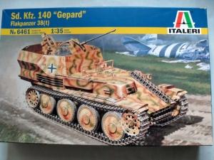 ITALERI 1/35 6461 Sd.Kfz 140 FLAKPANZER 38 t