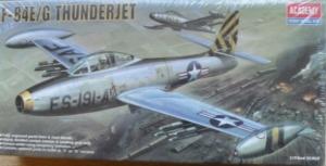 1/72 1617 F-84E/G THUNDERJET