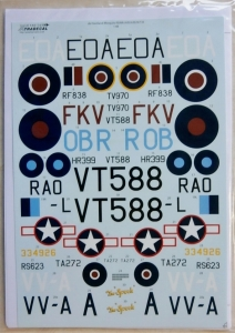 XTRADECAL 1/48 48156 de HAVILLAND MOSQUITO FB.VI/B.Mk.IV/T.Mk.III