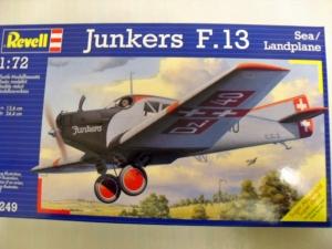 REVELL 1/72 04249 JUNKERS F.13 SEA/LANDPLANE