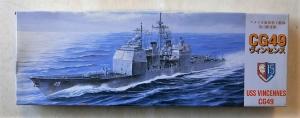 FUJIMI 1/700 41104 USS VINCENNES CG49