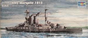 TRUMPETER 1/700 05780 HMS WARSPITE 1915