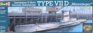 REVELL 1/144 05009 TYPE VIID MINELAYER U-BOAT