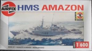 AIRFIX 1/600 02204 HMS AMAZON