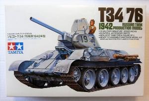 TAMIYA 1/35 35049 T34/76 1942 PRODUCTION MODEL